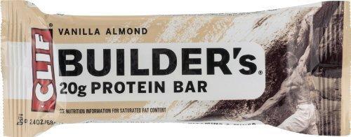 Clif Bar Builder Bar Van Almond 2.4 oz
