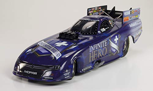 Diecast Funny Car - NEW! 2017 Fast Jack Beckman INFINITE HERO NHRA Dodge Charger RT Funny Car die-cast 1/24th scale replica