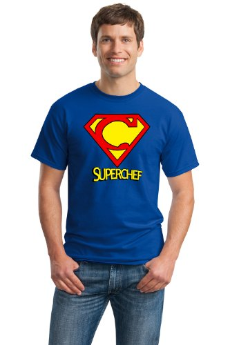 SUPER-CHEF! Unisex T-shirt / Funny Cooking Humor, Super Chef Tee