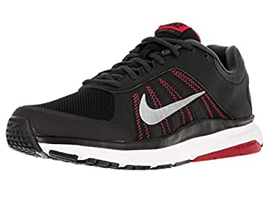 Nike Men's Dart 12 Blk/Mtlc Cl/Gry/Unvrsty Rd/Ant Running Shoe 7.5