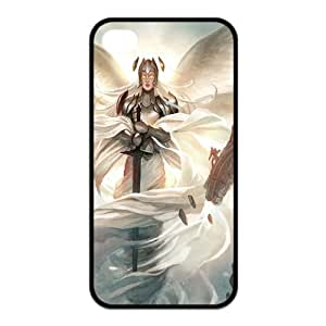 Fashion Magic The Gathering Personalized iPhone 4 4S Rubber Silicone Case Cover by ruishername