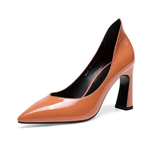 à pour Bout Bottes CXQ Chaussures Brown Light Femme Pointu XqwESTcz
