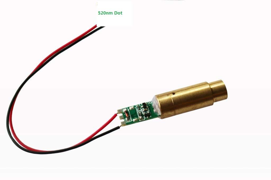 520nm Laser Module Direct Green Laser Generator Industrial DOT Laser 515nm