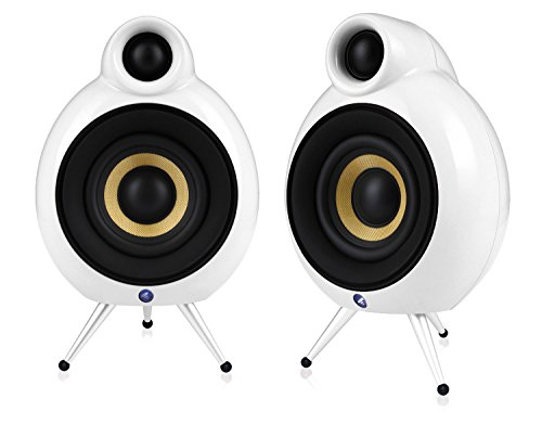 2 Way Compact Shielded Speakers (Podspeakers MicroPod SE White Compact Speaker for Stereo and Surround (Each))