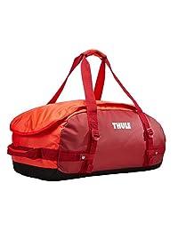 Thule Chasm 40L bolsa de lona Naranja, Rojo Nylon, Elastómero termoplástico (TPE) - Bolsas de lona (Naranja, Rojo, 40 L, Nylon, Elastómero termoplástico (TPE), Monótono, Bolsillo de malla, Bolsillo lateral)