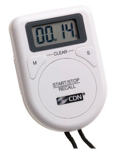 (CDN TR3-W Digital Timer on a Rope-White)