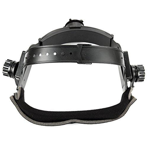 Gimiton Adjustable Welding Mask Headband Auto Dark Helmet Accessories Black