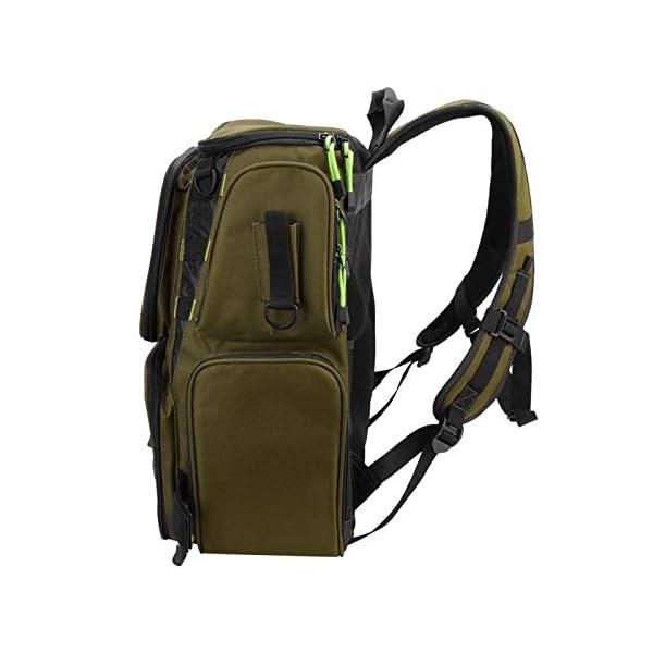 Wosune Fishing Tackle Backpack Waterproof Cloth