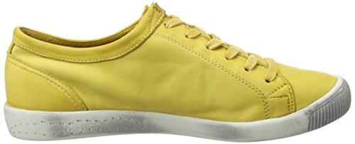 Softinos Isla Zapatillas Amarillo para Yellow Mujer q8OrqZ