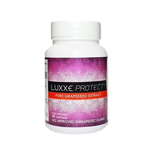 NEW Authentic Luxxe Protect, Pure Grapeseed Extract - 30 Capsules