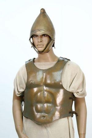 Roman Greek Medieval Spartan Armor Alexander Movie Prop Costume COA