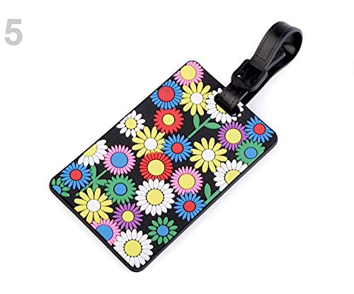 1pc 5 Multicolor Suitcase/Luggage Name Tag, Luggage, Handbag Pendants and Keychains, Accessories, Mobile Phone Pendants, Jewellery