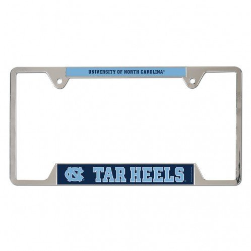 North Carolina Tar Heels Automobile - NCAA North Carolina Tar Heels Metal License Plate Frame