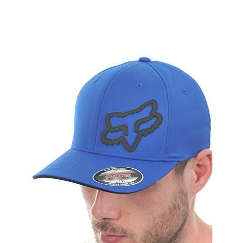 b8b9a7fcb8caf 50% de descuento Gorra niño Fox Signature Flexfit Hat Blue - www ...
