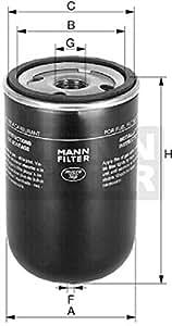 Mann-Filter WK 723/3 Filtro para Combustible