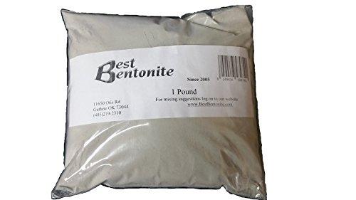 1 libra 100% puro mejor arcilla de bentonita. Desintoxicación interna y externa.