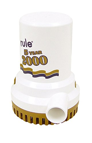 Rule 2000 GPH Gold Series Bilge Pump