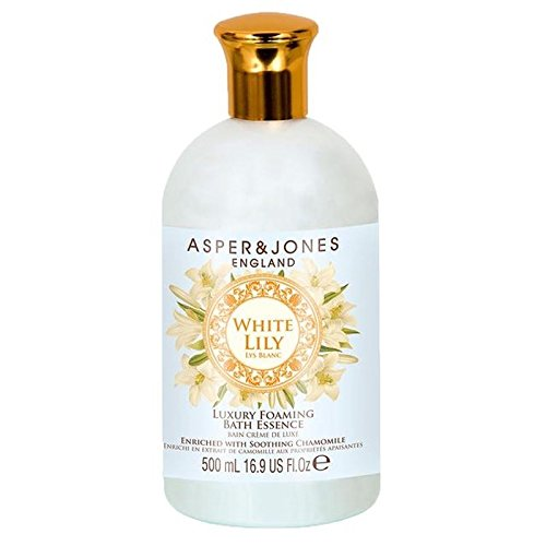 (Asper & Jones White Lily Moisturising Bath Essence 500ml)