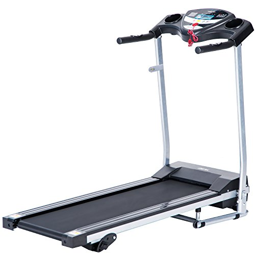 Merax JK1603E Easy Assembly Folding Electric Treadmill Motorized Running Machine