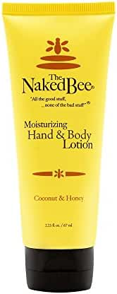 The Naked Bee Coconut Honey Hand And Body Lotion, 2.25 Ounce