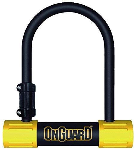 ONGUARD Bulldog Mini U-Lock (Black, 3.55 x 5.52-Inch) ()