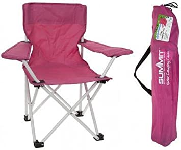 Superbe Kids Camping Chair Pink   Summit