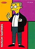Waylon Smithers trading card (The Simpsons, Assistant to Mr Burns) 1996 Tempo #10