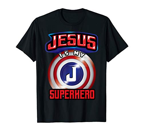 Jesus Is My Superhero Shirt | Cute Powerful Christian -