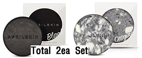 [April Skin] Signature Soap Set (Original+Black) by SeHOON