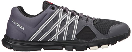 Reebok Men's Yourflex Train 8.0 L MT Training Shoe Stealth/Black/Ash Grey/Chalk from china online free shipping sneakernews best place to buy online buy cheap order free shipping marketable Q9hr0xriiW
