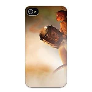 New Style Marvelouscases Fighter Background Premium Tpu Cover Case For Iphone 4/4s