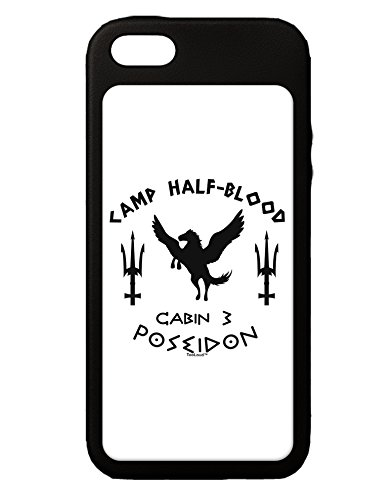 TooLoud Cabin 3 Poseidon Camp Half Blood iPhone 5C Grip Case