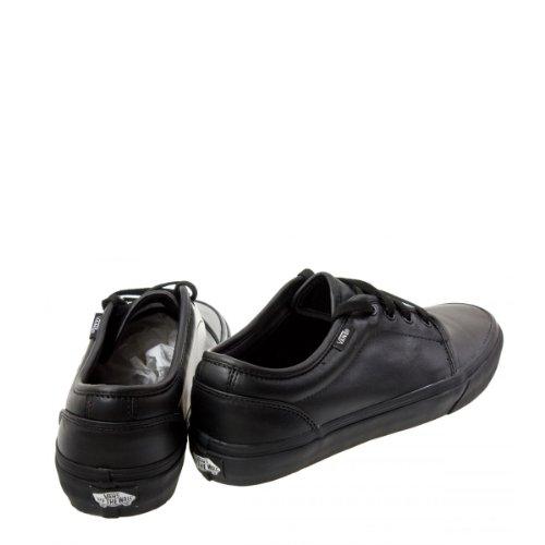 vulcanised vans black