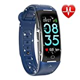 KARSEEN Fitness Tracker Smart Watch H3 Color Screen for Blood Pressure and Heart Rate Monitor Phone Enabled IP67 Waterproof Pedometer Sports Watch for Men