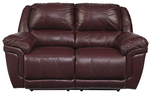 Signature Design by Ashley 8380286 Roma Reclining Loveseat, Manual