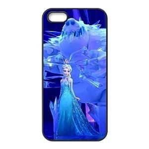 iPhone 5 5s Cell Phone Case Black Disney Frozen P4B4TD
