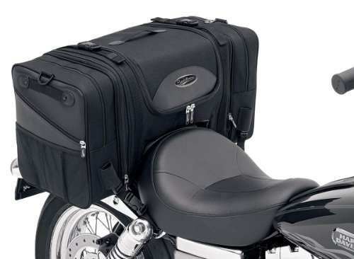 Saddlemen 3516-0036 Deluxe Cruiser Tail - Deluxe Bag Cargo