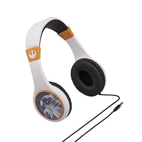 Star Wars Headphones for Kids with Built in Volume Limiting Feature for Kid...
