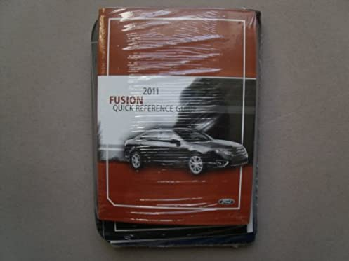 2011 ford fusion owners manual guide book ford amazon com books rh amazon com 2012 ford fusion owners manual for sale 2012 ford fusion owners manual for sale