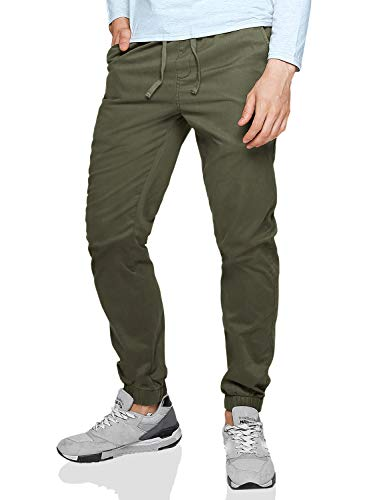 Match Men's Chino Jogger Pant #6535(32,6535 R-green) 30 US