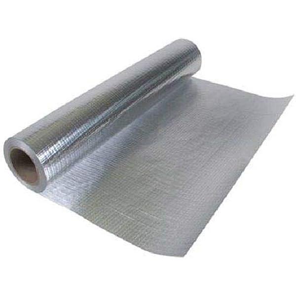 MWS 2000sqft 4ft Wide Perforated Heavy Duty No Tear Attic Foil Super Shield Barrier Wrap