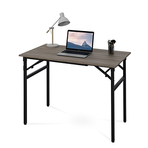DEVAISE Folding Computer Desk, 42'' Office Table No Assembly Required by DEVAISE