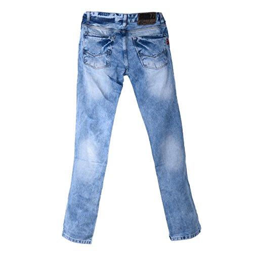 Modische Herren Jeans Used Look Optik