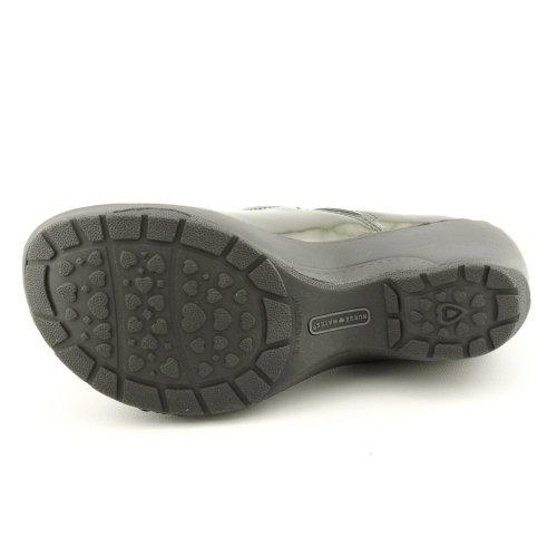 Slip Clog Patent Mates Shoes Nurse Bryar On Women's Pewter twwXRHqg