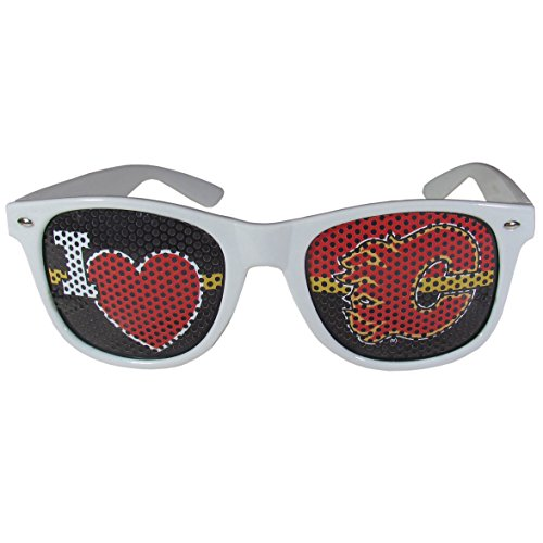 NHL Calgary Flames I Heart Game Day Shades, ()