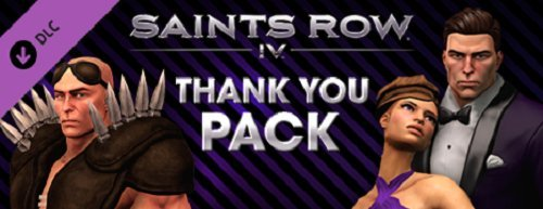 Saints Row IV - Thank You Pack [Online Game - The Online Row