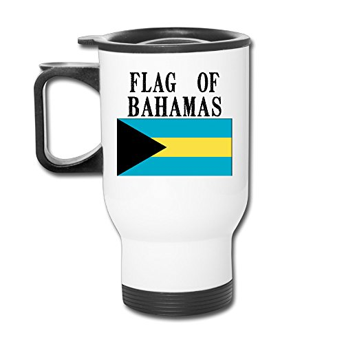 Custom Flag Of The Bahamas Handy Travel Mugs Gift By Katiydry