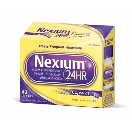 Nexium 24HR Capsules, 84 Capsules by Nexium