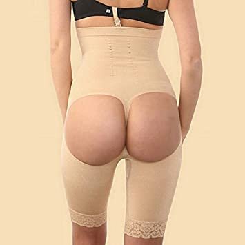 433e628915d8d Vybio£¨TM£© Brazilian Body Shaper Butt Lifter with Tummy Control Pants Women  Slim Shaper Pant High Waist Slimming Underwear Bum Lift Shapers   Amazon.co.uk  ...