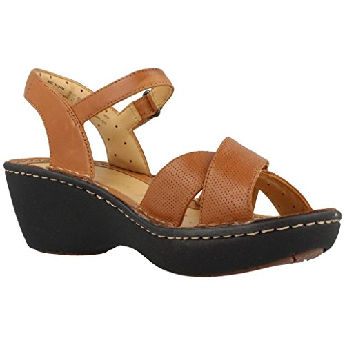 Sandalias y chanclas para mujer, color marr�n , marca CLARKS, modelo Sandalias Y Chanclas Para Mujer CLARKS UN DIMA Marr�n marr�n
